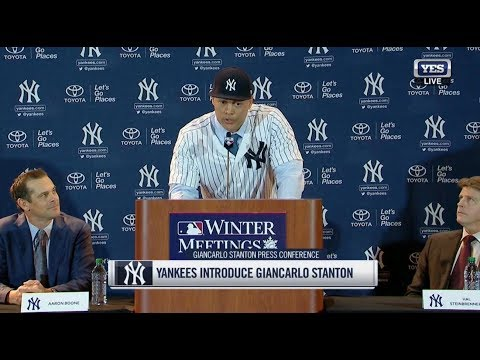 FULL Press Conference - Yankees Introduce Giancarlo Stanton