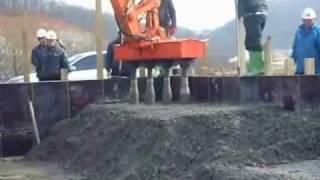 Vibradores de concreto para escavadoras hidráulicas