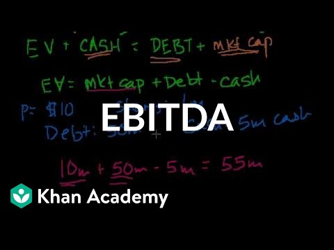 Ebitda Video Stocks And Bonds Khan Academy