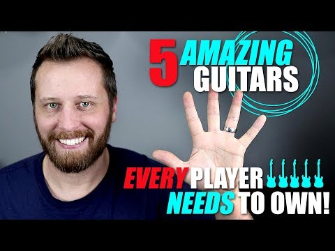 5 AMAZING Electric Guitars Every Player Needs To Own!
