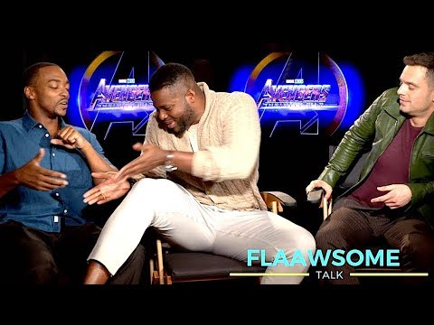 'AVENGERS' Cast On Who's Got Bigger Thighs .... (Infinity War)