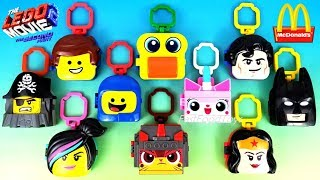 2019 McDONALD'S LEGO MOVIE 2 THE SECOND PART HAPPY MEAL TOYS FULL SET 10 KID ASIA EUROPE US UNBOXING