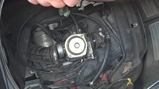 7. Vespa ET4 150cc Carb Removal