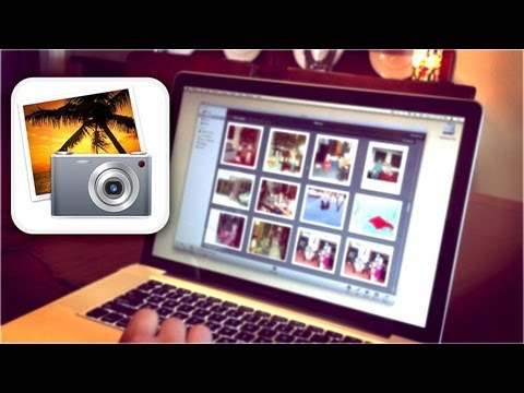 how to organize photos in iphoto