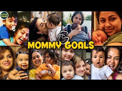 நடிகைகளும் குழந்தைகளும் | Tamil Actresses Fun time with their Kids | Simran,Sneha,Genelia,Saindhavi