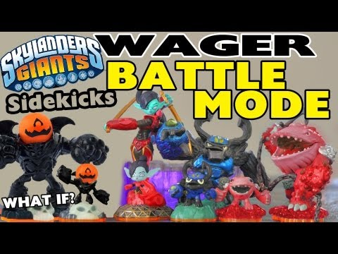 Giants Sidekicks / Variant Battle Mode w/ Wager - Dad vs. Son (Luck 'o Tron Portal)