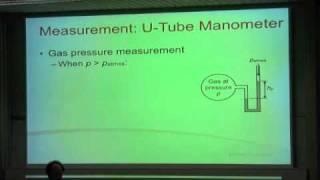 Fluids Lecture 1.2 - Hydrostatic Pressure
