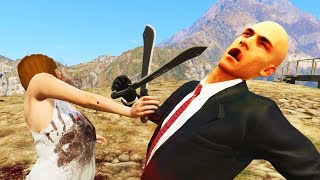 GTA V Crazy Funny Moments Compilation #52. Grand Theft Auto 5 Hitman Mod. Please leave a LIKE for more GTA 5  and also subscribe for more Videos. Thanks! 😊Subscribe to my Channel 😹 http://goo.gl/eMs3IxTwitter! https://twitter.com/BlackCat_YT