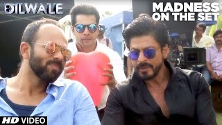 Video Dilwale | Madness on the set | Kajol, Shah Rukh Khan, Kriti Sanon, Varun Dhawan MP3, 3GP, MP4, WEBM, AVI, FLV Januari 2019