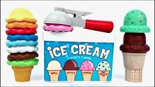 Learn COLORS and NUMBERS with Ice Cream Cones Toys Unlimited ...