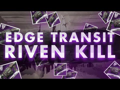 Edge Transit Riven Kill | Last Wish Raid | Destiny 2 (видео)