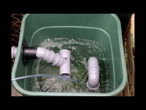 Teich Filter selber bauen