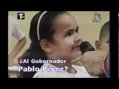 innocent children program Alo president Hugo Chavez comedy Zulia