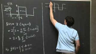 Manipulating Fourier Series | MIT 18.03SC Differential Equations, Fall 2011