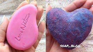 Soap Carving ASMR ! Relaxing Sounds ! (no talking) Satisfying ASMR Video | P106