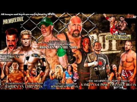 WWE No Way Out 2012 - AUDIO ONLY!!! AUDIO ONLY!!!! AUDIO ONLY!!! Join host Lee Sanders on his weekly wrestling show as he gets you caught up on the fallout from the WWE No Way Out...