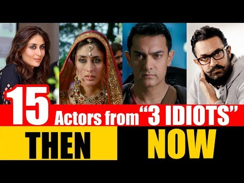 """15 Bollywood Actors from """"3 IDIOTS"""" 2009 