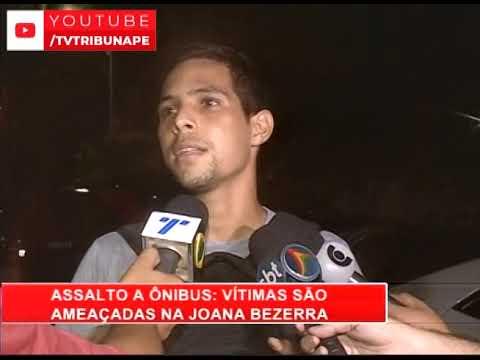 [RONDA GERAL] Vítimas são ameaçadas durante assalto a ônibus, na Joana Bezerra