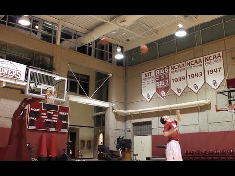 Oklahoma Guard and QB Trevor Knight Create Extremely Impressive New Trick Shot Video