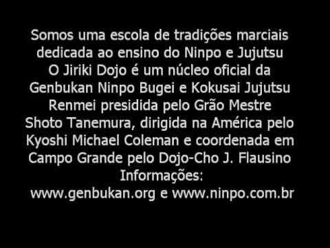Escola Jiriki Dojo – Genbukan Ninpo & Jujutsu Tradicional