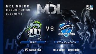 Spirit vs Vega Squadron, MDL CIS, game 2 [GodHunt, Mila]