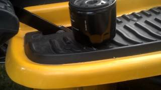 5. Cub Cadet Oil Change