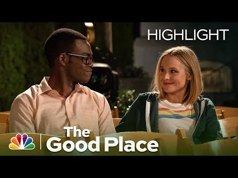 Michael Gives Eleanor and Chidi a Going-Away Present - The Good Place (Episode Highlight)
