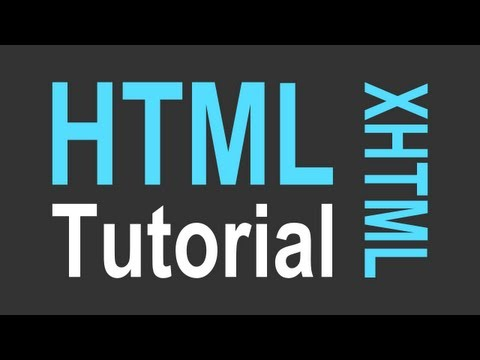 HTML Tutorial For Beginners - Part 1 Of 4