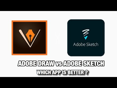COMPARING ADOBE DRAW VS ADOBE SKETCH ( WHICH APP IS BETTER ? )