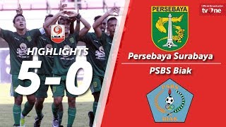 Video Persebaya Surabaya vs PSBS Biak: 5-0 All Goals & Highlights MP3, 3GP, MP4, WEBM, AVI, FLV Oktober 2017