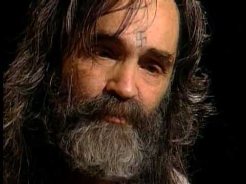 Manson - Charles Manson - Dianne Sawyer Documentary Charlie Manson told us 1969 to go back to horse and grow our own food and try to avoid using electricity and light...