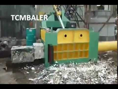 Automatic Metal Balers Equipment
