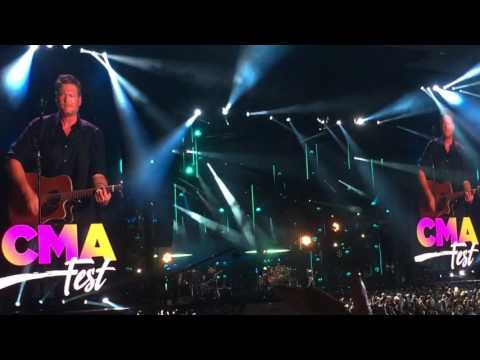 Blake Shelton - Every Time I Hear That Song - CMA Fest 2017