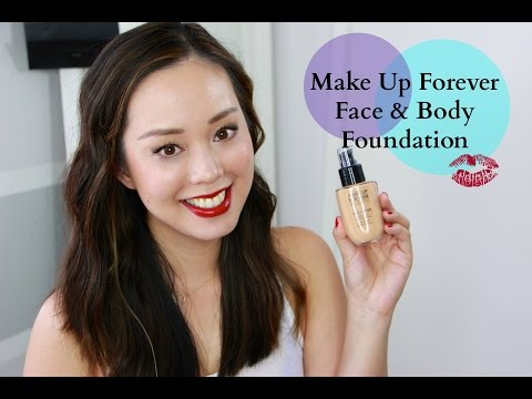 Make Up For Ever Face & Body Foundation Review #TesterTuesdays