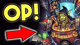 New Dr. Boom HERO is INSANE! | Mech Warrior | Mad Genius | The Boomsday Project | Hearthstone