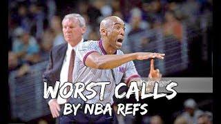 Video WORST Calls by NBA REFEREES MP3, 3GP, MP4, WEBM, AVI, FLV Desember 2018