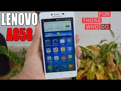 Review Lenovo A858 en Español   Android Evolution
