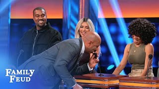 Video You can say THAT again, Kim! | Celebrity Family Feud MP3, 3GP, MP4, WEBM, AVI, FLV Juni 2018