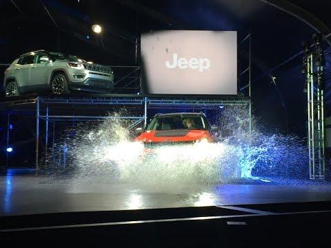 Jeep Compass 2017 presentado en los Angeles