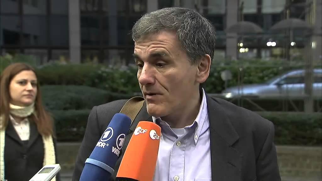 Δήλωση του Ευ. Τσακαλώτου κατά την άφιξή του στο Ecofin