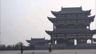 Sanmenxia China  city photos : Morning walk to pagoda park in Sanmenxia China