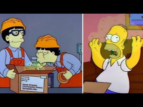 Simpsons voorspellen coronavirus