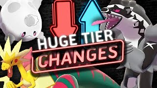 BIG TIER CHANGES! NEW NU TIER! Pokemon Sword and Shield! Tier Changes [February 2020] by PokeaimMD