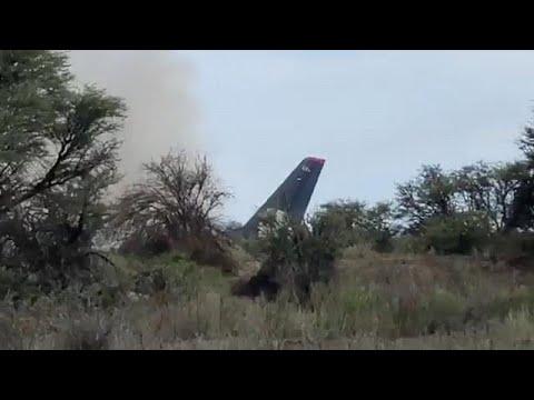Η στιγμή της συντριβής του αεροσκάφους (βίντεο)