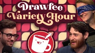 FANTASY Drawing Challenges - Drawfee Variety Hour