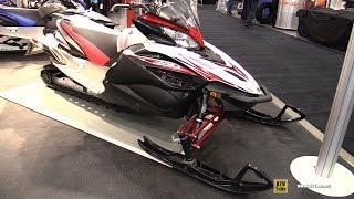 6. 2016 Yamaha Apex X-TX 1.75 LE Sled - Walkaround - 2015 Toronto Snowmobile & ATV Show