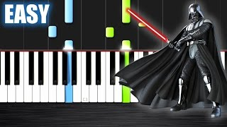 The Imperial March - Star Wars - EASY Piano Tutorial  Ноты и МИДИ (MIDI) можем выслать Вам (Sheet mu