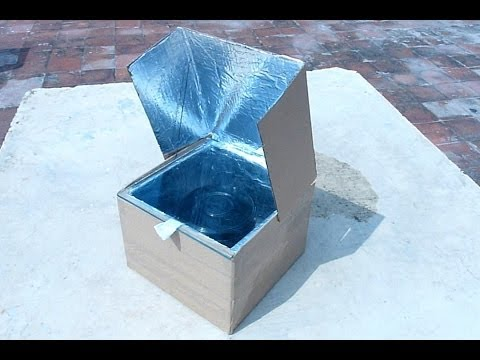 How to make a simple solar cooker to understand the use of solar energy