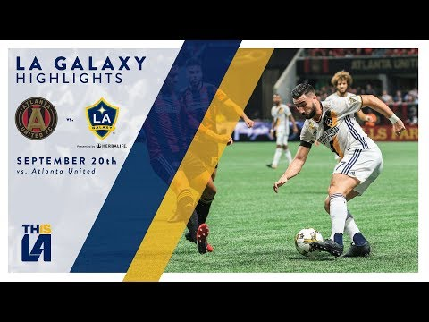 Video: HIGHLIGHTS: LA Galaxy vs. Atlanta United FC | September 20, 2017
