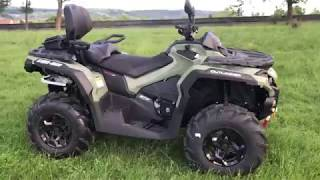 8. Can Am Outlander 570 Max Pro 2019